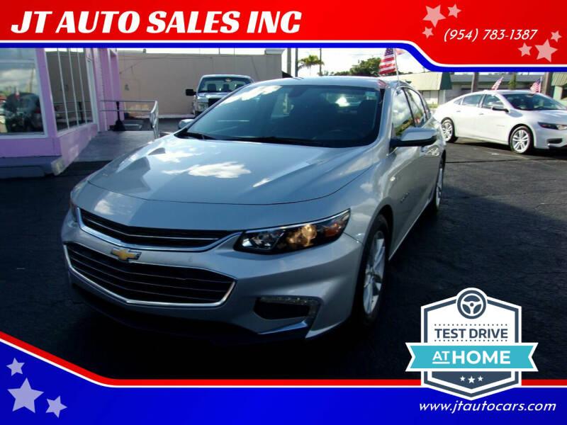 2018 Chevrolet Malibu for sale at JT AUTO SALES INC in Oakland Park FL