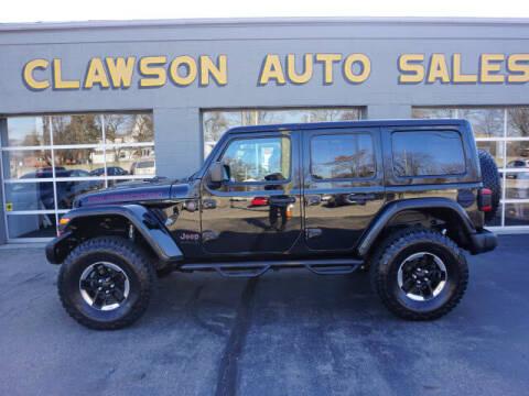 2018 Jeep Wrangler Unlimited for sale at Clawson Auto Sales in Clawson MI