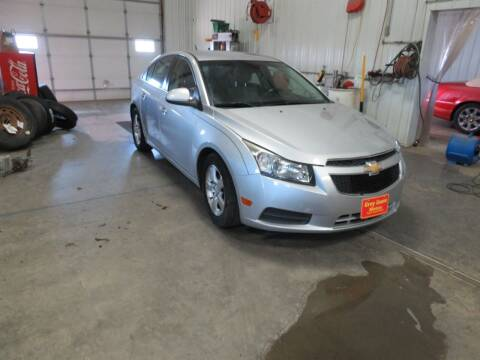 2012 Chevrolet Cruze for sale at Grey Goose Motors in Pierre SD