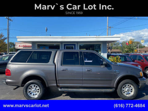 2003 Ford F-150 for sale at Marv`s Car Lot Inc. in Zeeland MI