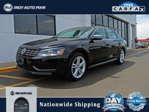 2014 Volkswagen Passat for sale at INDY AUTO MAN in Indianapolis IN