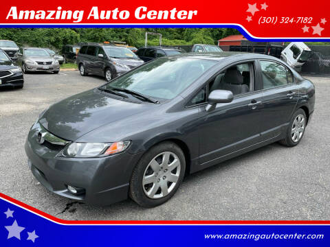 2011 Honda Civic for sale at Amazing Auto Center in Capitol Heights MD