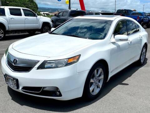 2013 Acura TL for sale at PONO'S USED CARS in Hilo HI