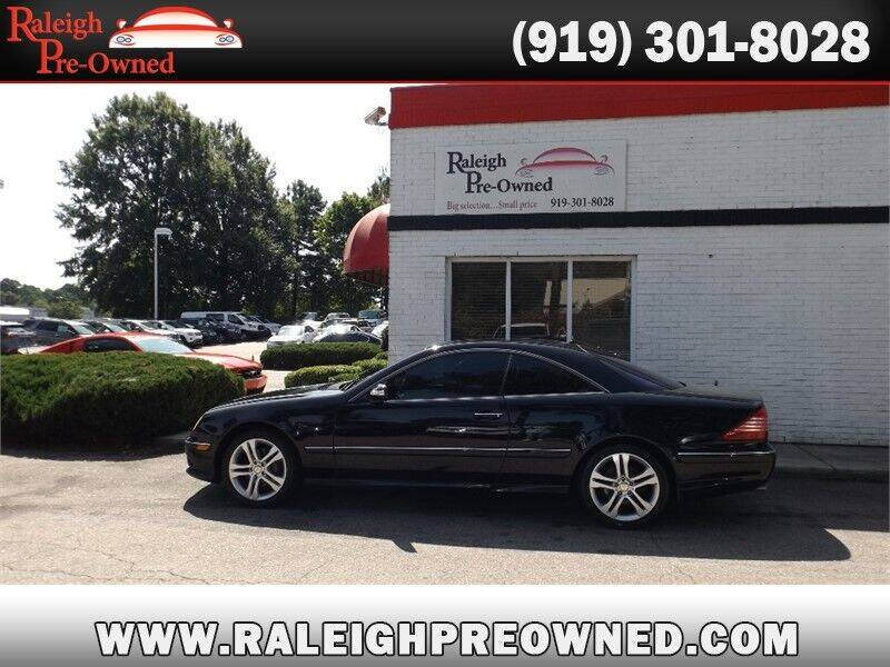 2006 Mercedes-Benz CL-Class for sale at Raleigh Pre-Owned in Raleigh NC