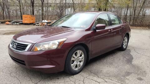 2008 Honda Accord for sale at Seran Auto Sales LLC in Pittsburgh PA