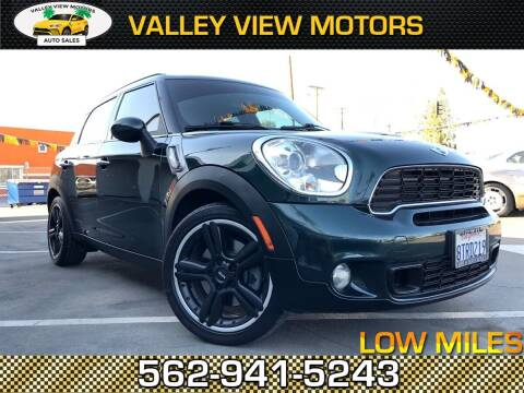 2011 MINI Cooper Countryman for sale at Valley View Motors in Whittier CA