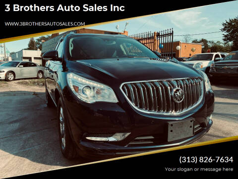 2015 Buick Enclave for sale at 3 Brothers Auto Sales Inc in Detroit MI
