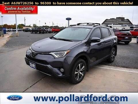 2018 Toyota RAV4 for sale at South Plains Autoplex by RANDY BUCHANAN in Lubbock TX