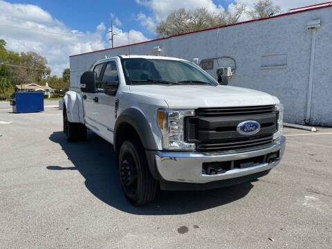 2017 Ford F-450 Super Duty for sale at LUXURY AUTO MALL in Tampa FL