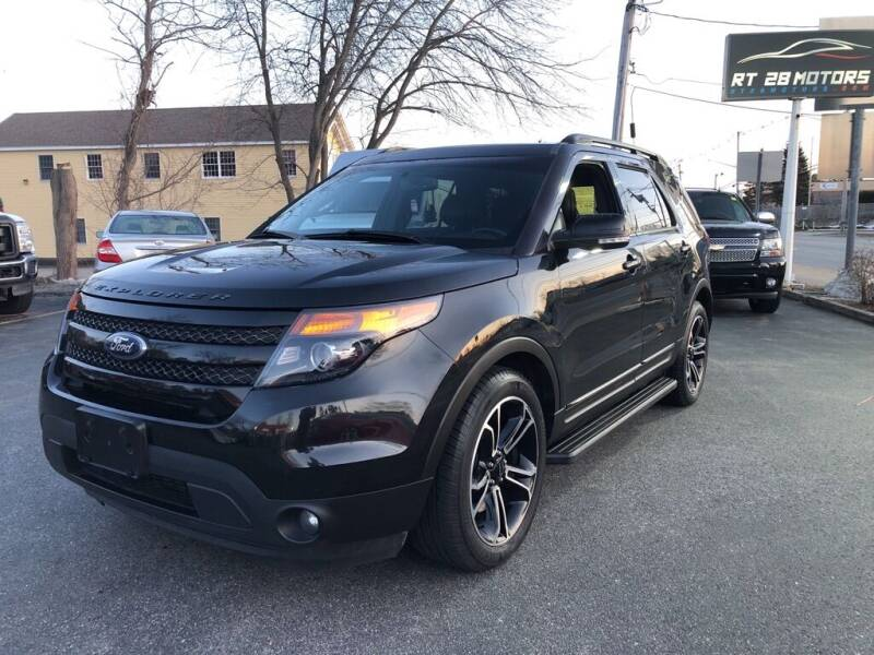 2015 Ford Explorer for sale at RT28 Motors in North Reading MA