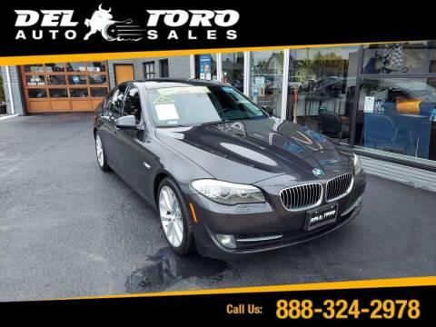 2011 BMW 5 Series for sale at DEL TORO AUTO SALES in Auburn WA
