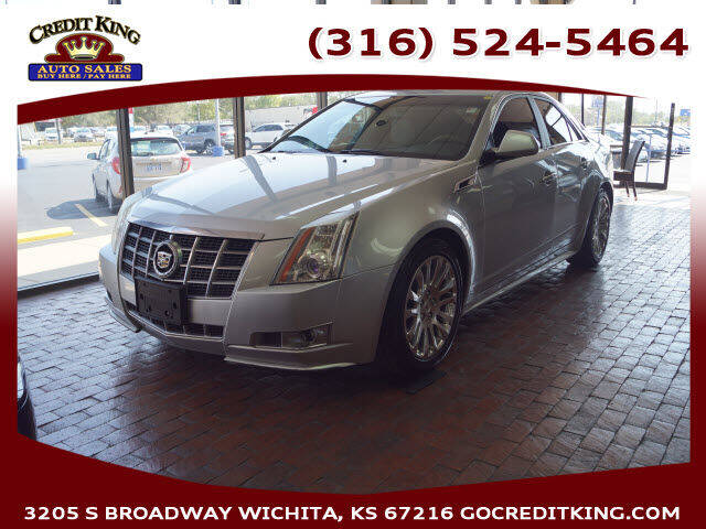 2012 Cadillac CTS for sale at Credit King Auto Sales in Wichita KS