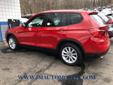 2017 BMW X3 for sale at J & M Automotive in Naugatuck CT