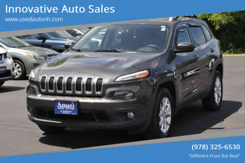 2015 Jeep Cherokee for sale at Innovative Auto Sales in North Hampton NH
