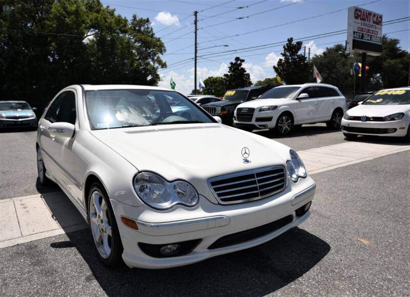 2007 Mercedes-Benz C-Class for sale at Grant Car Concepts in Orlando FL