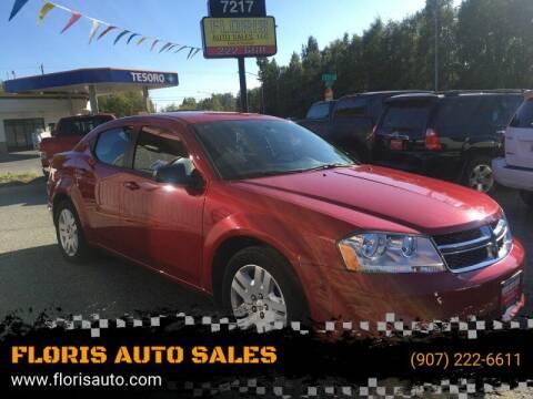 2012 Dodge Avenger for sale at FLORIS AUTO SALES in Anchorage AK