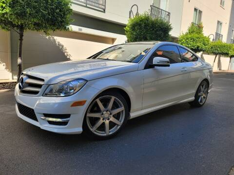 2013 Mercedes-Benz C-Class for sale at Bay Auto Exchange in San Jose CA