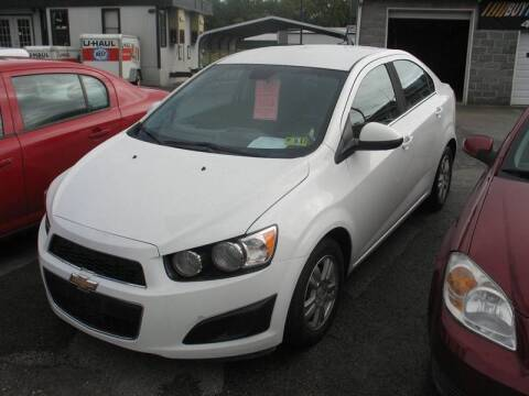 2012 Chevrolet Sonic for sale at RACEN AUTO SALES LLC in Buckhannon WV
