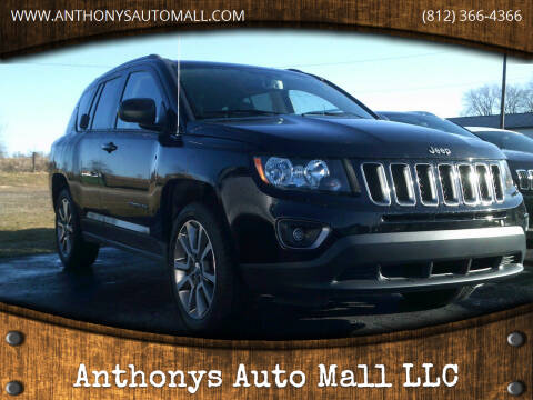 2017 Jeep Compass for sale at Anthonys Auto Mall LLC in New Salisbury IN