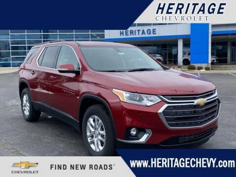 2021 Chevrolet Traverse for sale at HERITAGE CHEVROLET INC in Creek MI