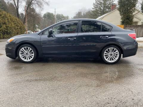 2013 Subaru Impreza for sale at ALL Motor Cars LTD in Tillson NY