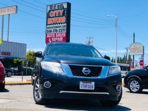2015 Nissan Pathfinder for sale at City Motors in Hayward CA