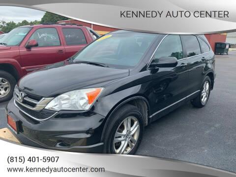 2010 Honda CR-V for sale at KENNEDY AUTO CENTER in Bradley IL