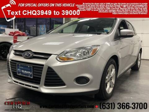 2013 Ford Focus for sale at CERTIFIED HEADQUARTERS in St James NY