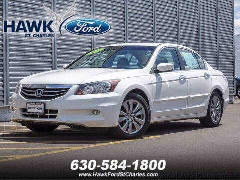 2012 Honda Accord for sale at Hawk Ford of St. Charles in St Charles IL