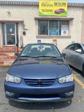 2000 Toyota Corolla for sale at Budget Auto Deal and More Services Inc in Worcester MA