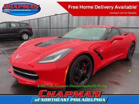 2014 Chevrolet Corvette for sale at CHAPMAN FORD NORTHEAST PHILADELPHIA in Philadelphia PA