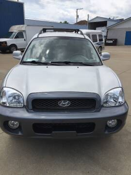 2003 Hyundai Santa Fe for sale at New Rides in Portsmouth OH