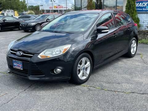 2012 Ford Focus for sale at Mack 1 Motors in Fredericksburg VA