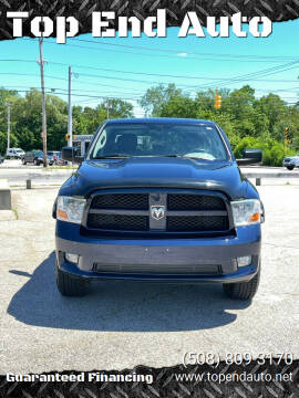 2012 RAM Ram Pickup 1500 for sale at Top End Auto in North Attleboro MA