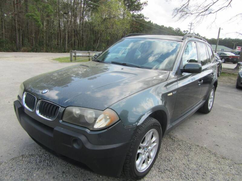 2004 BMW X3 for sale at Bullet Motors Charleston Area in Summerville SC