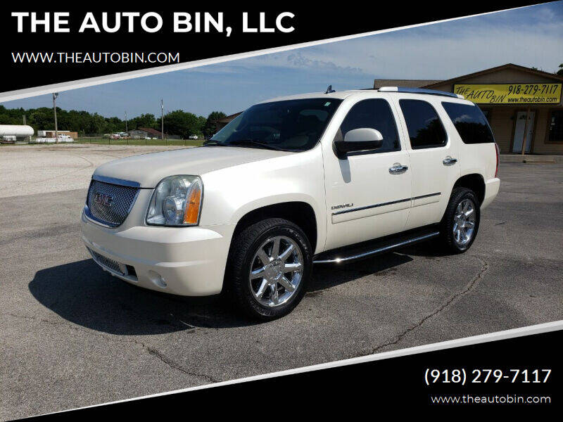 2011 GMC Yukon for sale at THE AUTO BIN, LLC in Broken Arrow OK