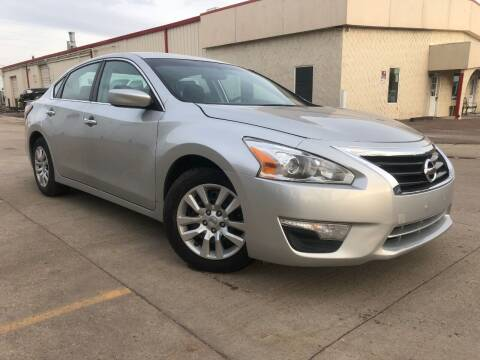 2015 Nissan Altima for sale at Zapp Motors in Englewood CO
