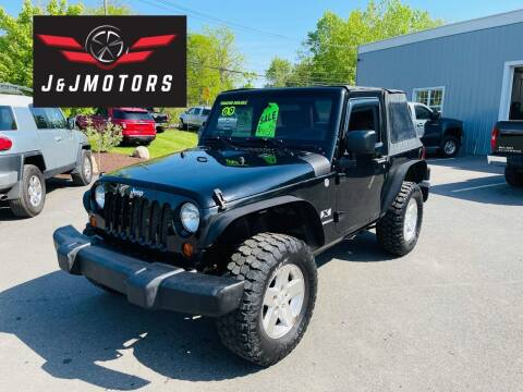 2009 Jeep Wrangler for sale at J & J MOTORS in New Milford CT