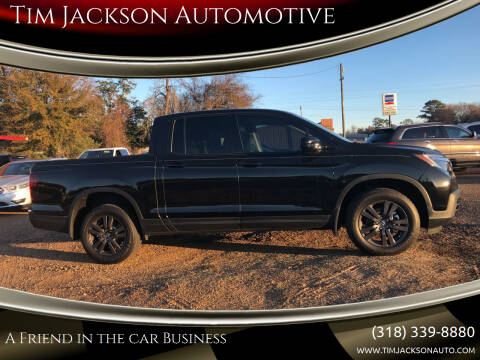 2019 Honda Ridgeline for sale at Tim Jackson Automotive in Jonesville LA