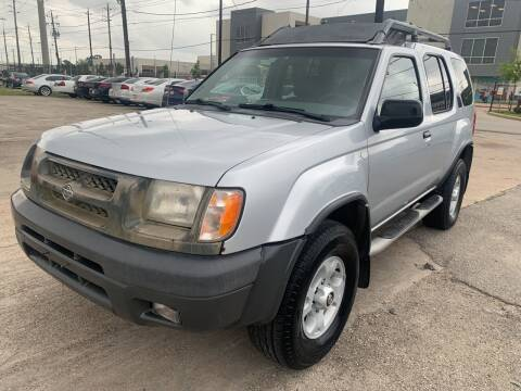 2000 Nissan Xterra for sale at FAIR DEAL AUTO SALES INC in Houston TX