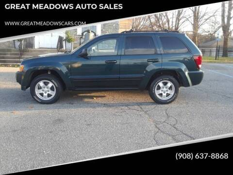 2006 Jeep Grand Cherokee for sale at GREAT MEADOWS AUTO SALES in Great Meadows NJ