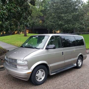 2001 Chevrolet Astro for sale at Houston Auto Preowned in Houston TX