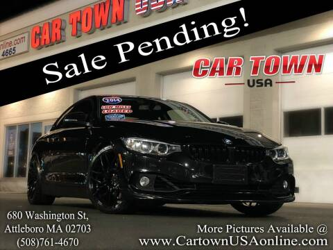 2014 BMW 4 Series for sale at Car Town USA in Attleboro MA