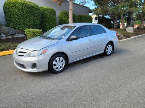 2011 Toyota Corolla for sale at SS MOTORS LLC in Edmonds WA