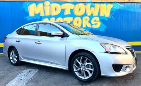 2013 Nissan Sentra for sale at Midtown Motors in San Jose CA
