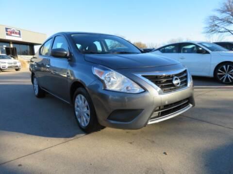2019 Nissan Versa for sale at KIAN MOTORS INC in Plano TX