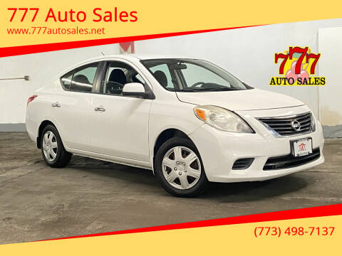 2012 Nissan Versa for sale at 777 Auto Sales in Bedford Park IL
