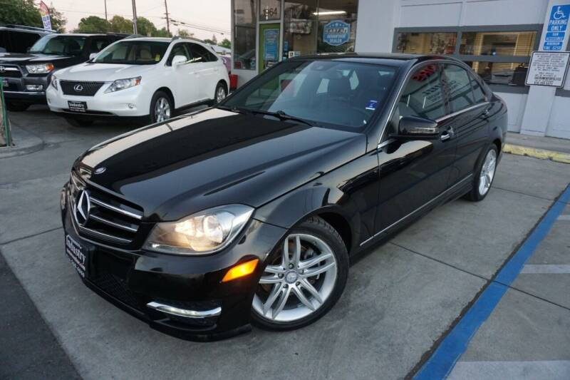 2012 Mercedes-Benz C-Class for sale at Industry Motors in Sacramento CA