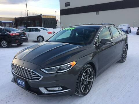 2017 Ford Fusion for sale at Delta Car Connection LLC in Anchorage AK