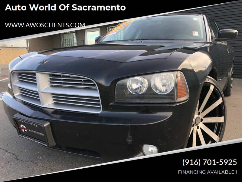 2010 Dodge Charger for sale at Auto World of Sacramento Stockton Blvd in Sacramento CA